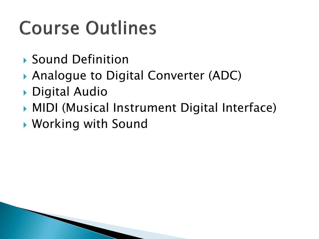 PPT - Digital Audio PowerPoint Presentation - ID:1623948
