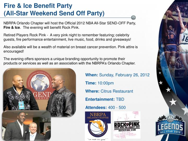 Fire & Ice Benefit Party