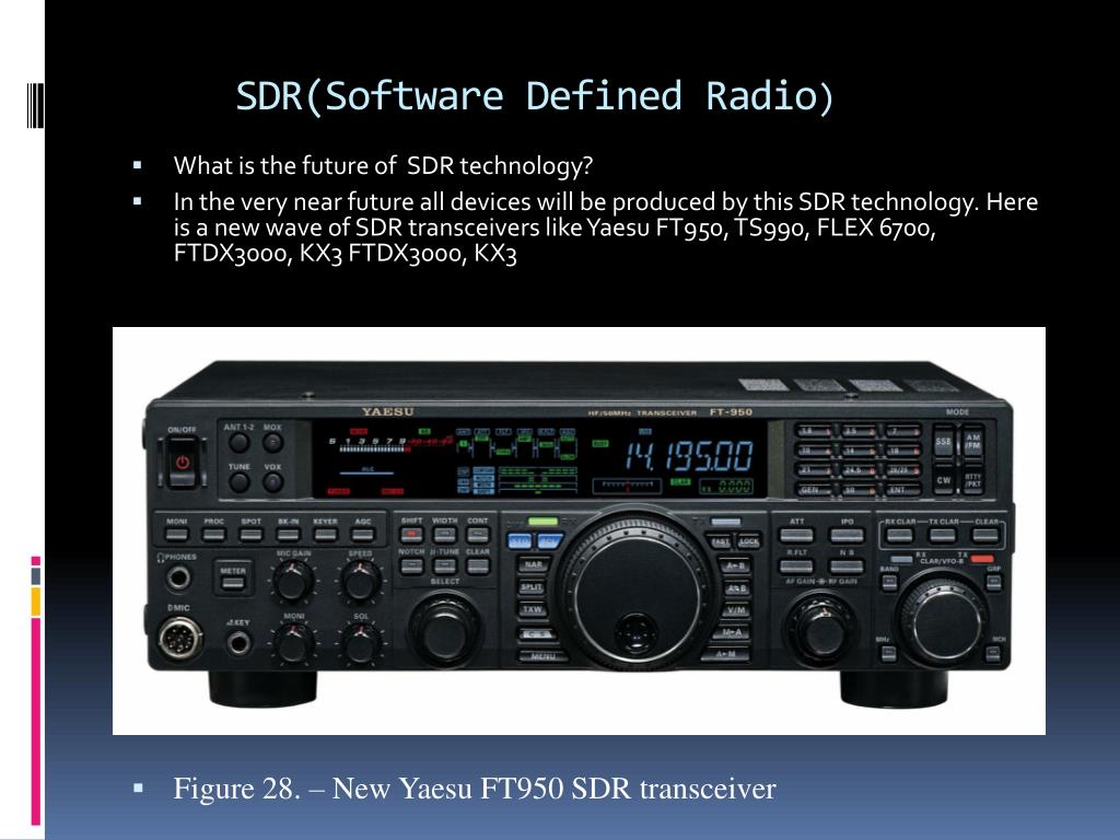 PPT - SDR(Software Defined Radio ) PowerPoint Presentation
