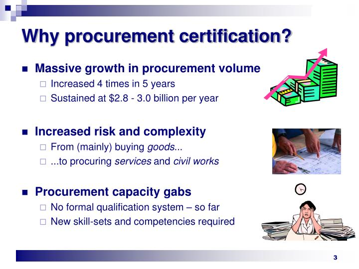 PPT - Procurement Certification – Who needs it? PowerPoint ...