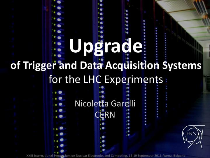 Upgrade of trigger and data acquisition systems for the lhc experiments