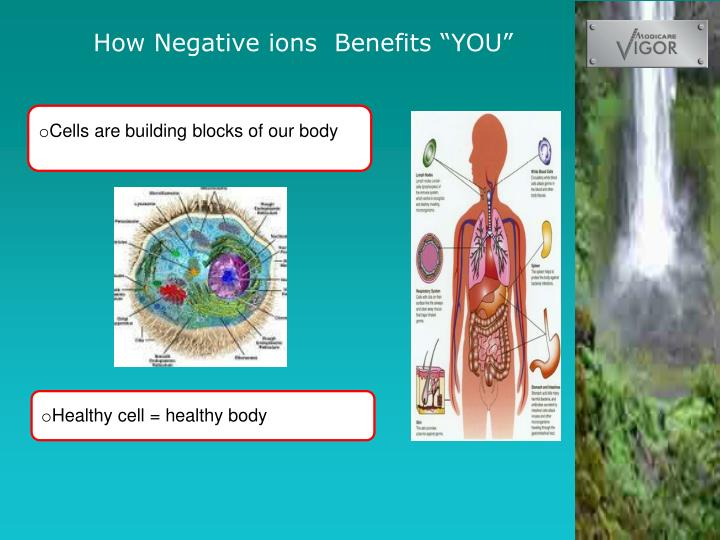 """How Negative ions  Benefits """"YOU"""""""
