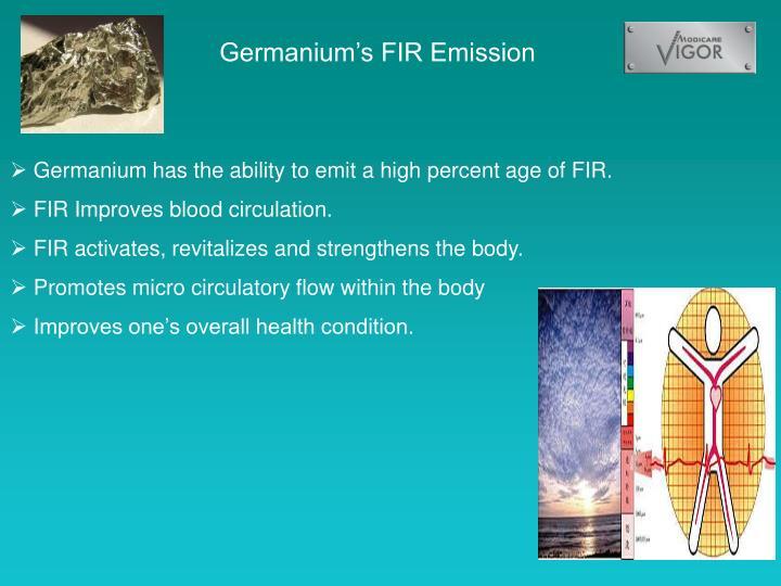 Germanium's FIR Emission