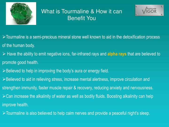 What is Tourmaline & How it can