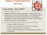chapter 20 1 essential elements of advertising3