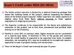 buyer s credit under neia bc neia1