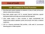 lines of credit
