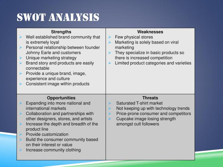 swot analysis american president lines Learn how to use business swot analysis to business swot analysis what makes swot you might need to apply the tool at a product or product-line.