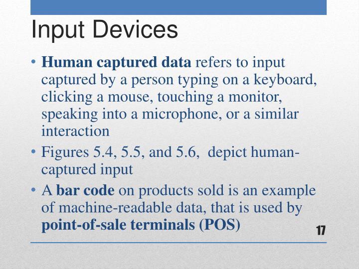 Human captured data