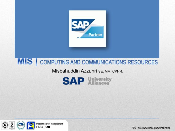 M is computing and communications resources