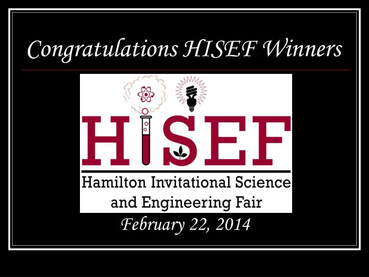 congratulations hisef winners n.