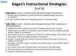 kagan s instructional strategies 9 of 16