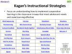 kagan s instructional strategies
