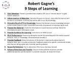 robert gagne s 9 steps of learning