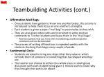 teambuilding activities cont1