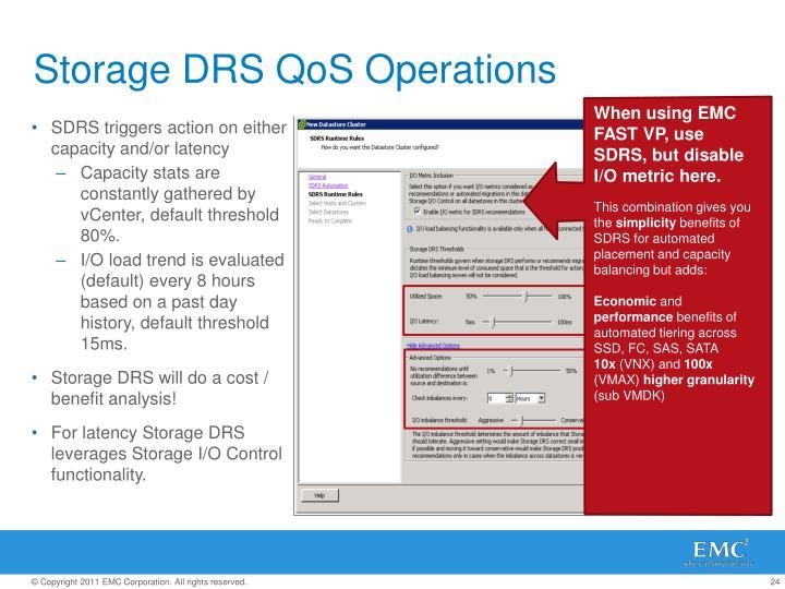 Storage DRS