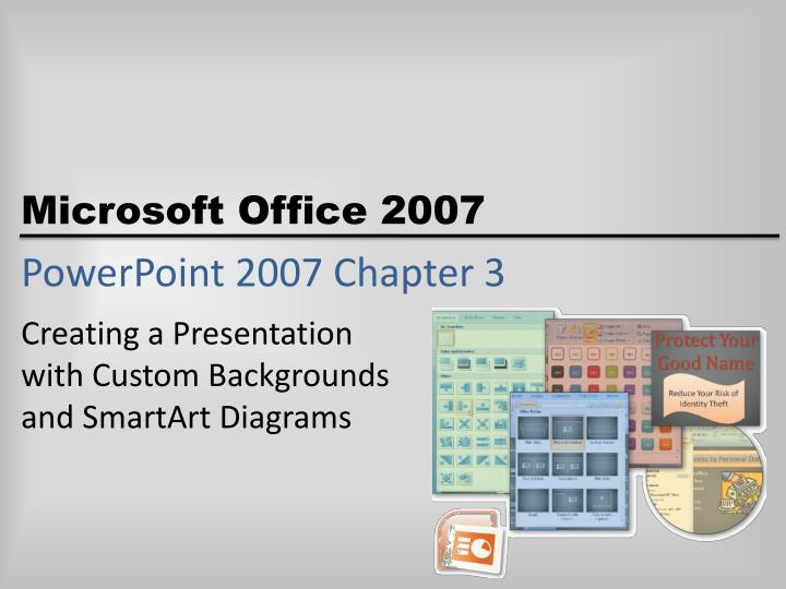 powerpoint 2007 chapter 3 n.