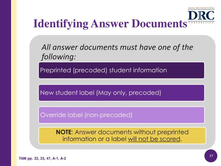 Identifying Answer Documents