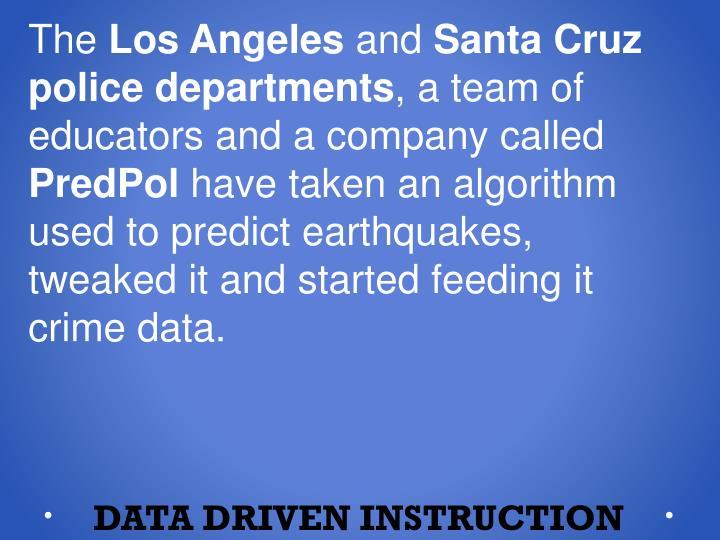 Data driven instruction2