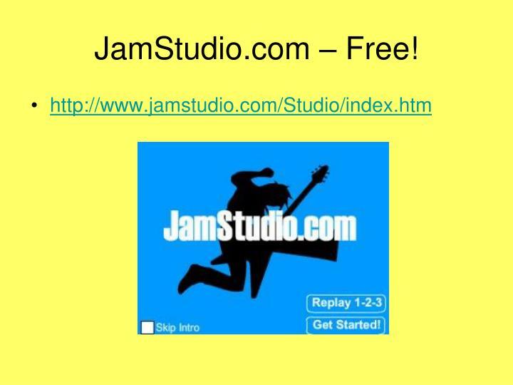 JamStudio.com – Free!