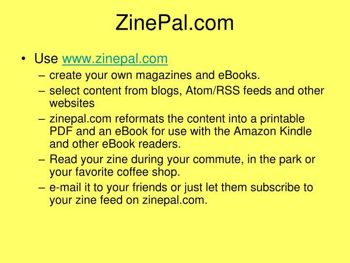 ZinePal.com