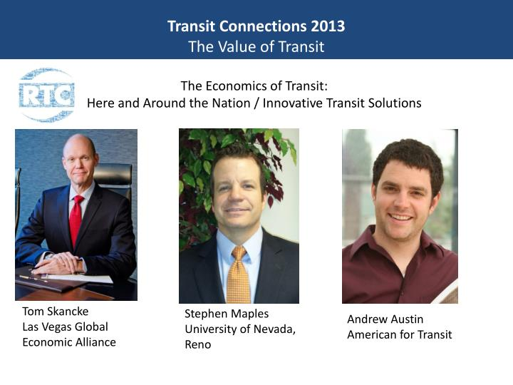 Transit Connections 2013