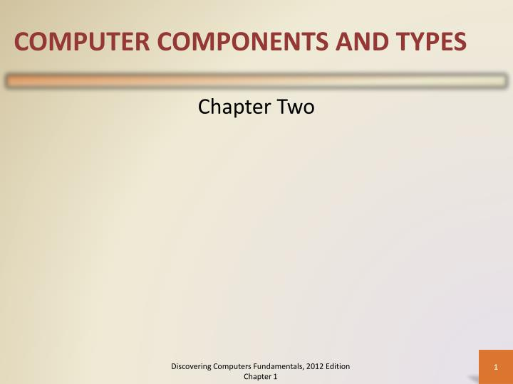 computer components and types n.