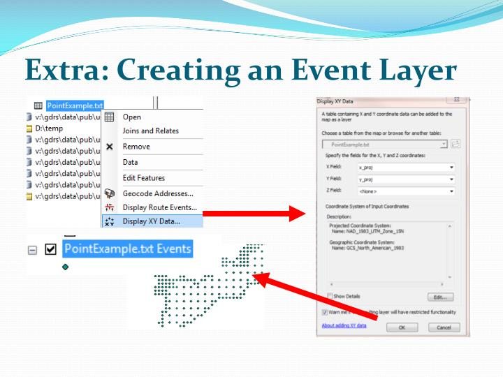 Extra: Creating an Event Layer