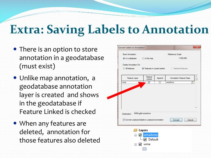 Extra: Saving Labels to Annotation