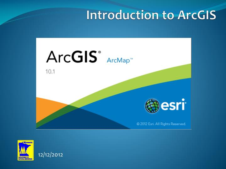 introduction to arcgis n.