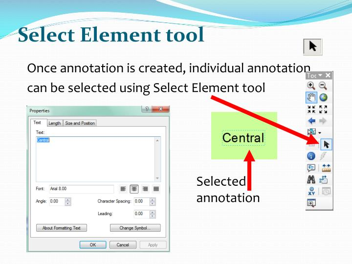 Select Element tool