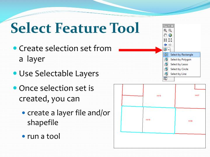Select Feature Tool