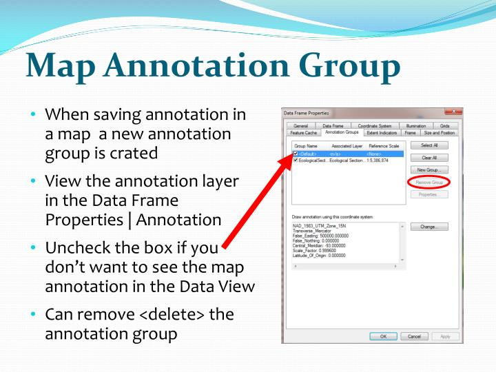 Map Annotation Group