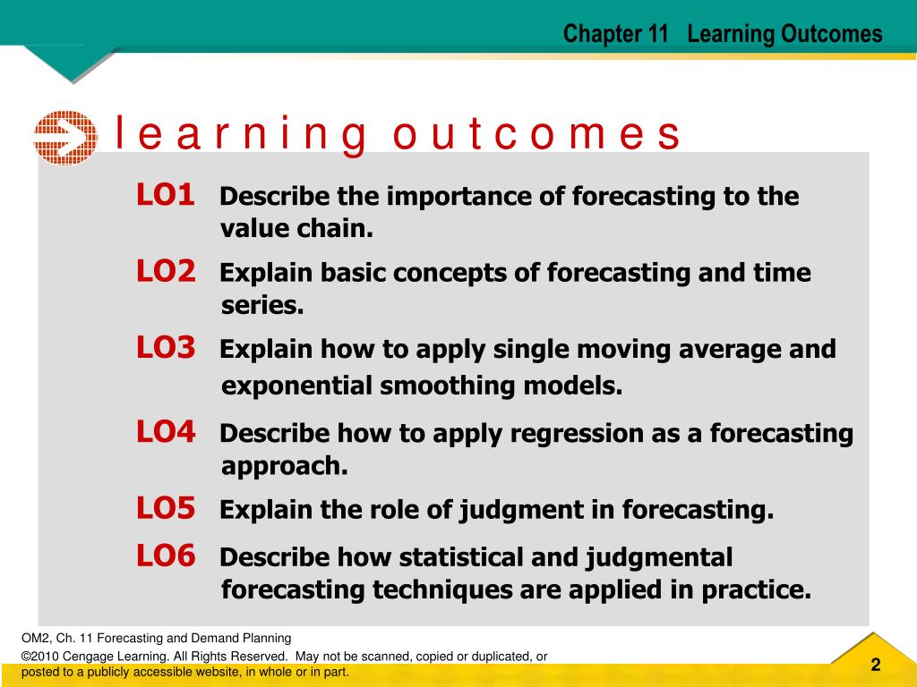PPT - FORECASTING AND DEMAND PLANNING PowerPoint