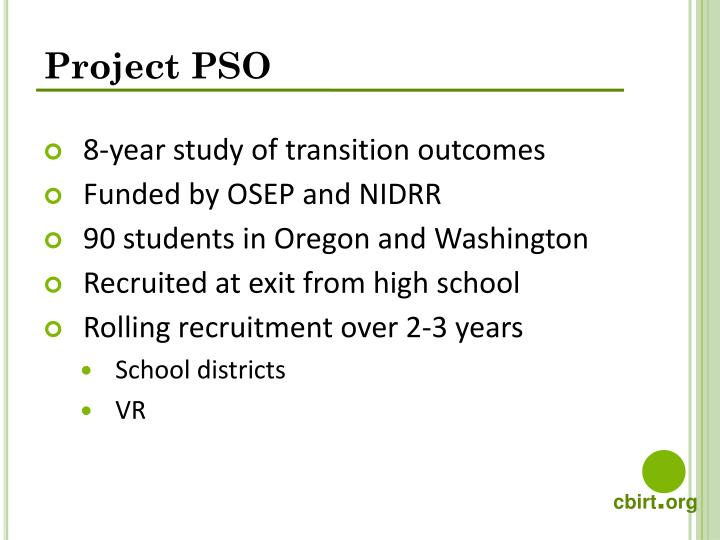 Project PSO