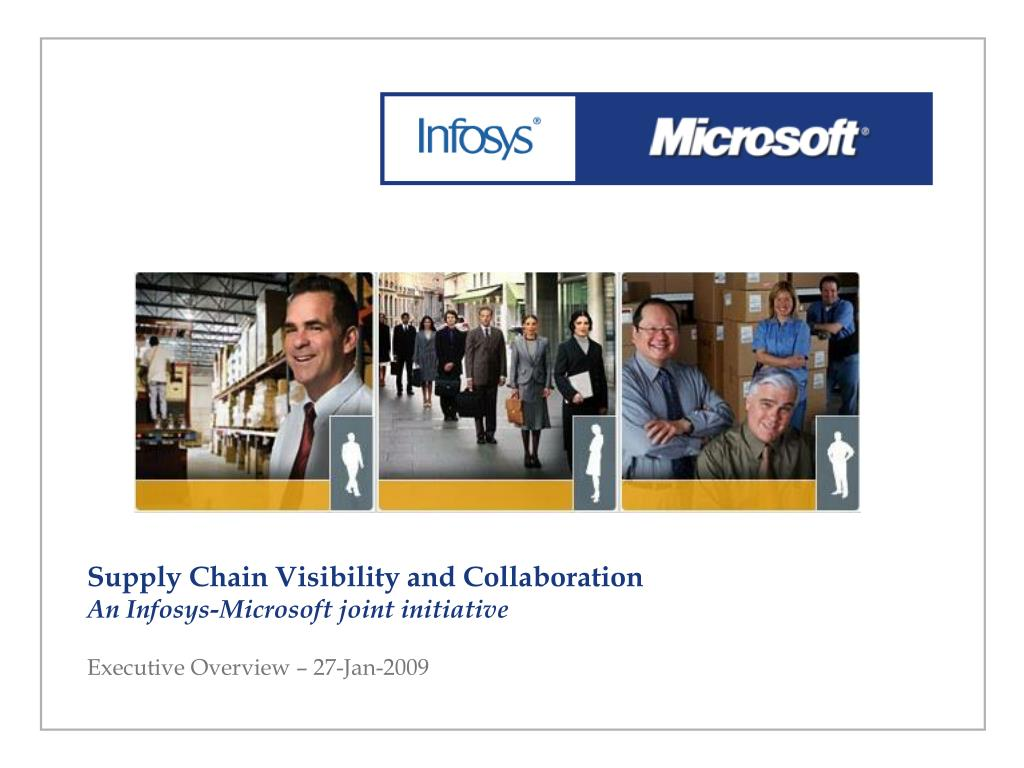 PPT   Supply Chain Visibility and Collaboration An Infosys ...