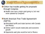 early clinton administration