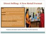 direct selling a new retail format