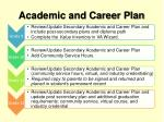 academic and career plan2