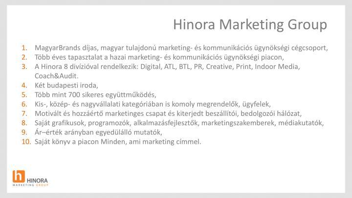 Hinora Marketing Group