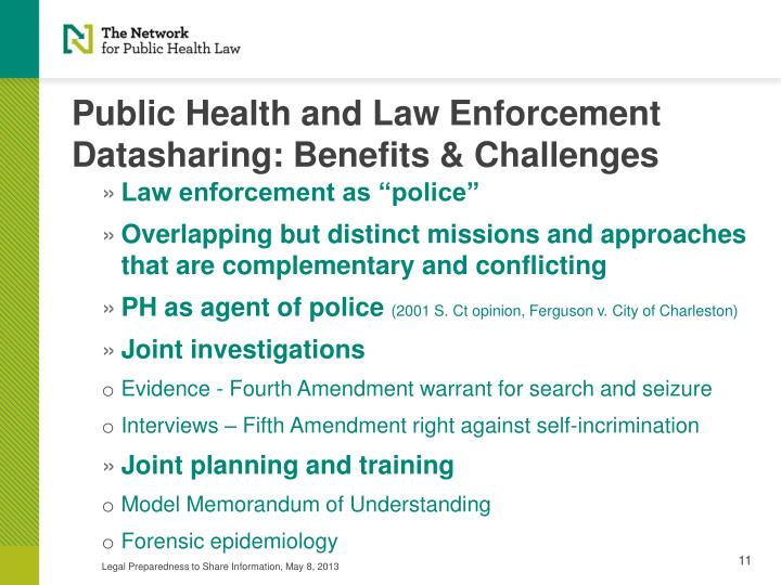 Public Health and Law