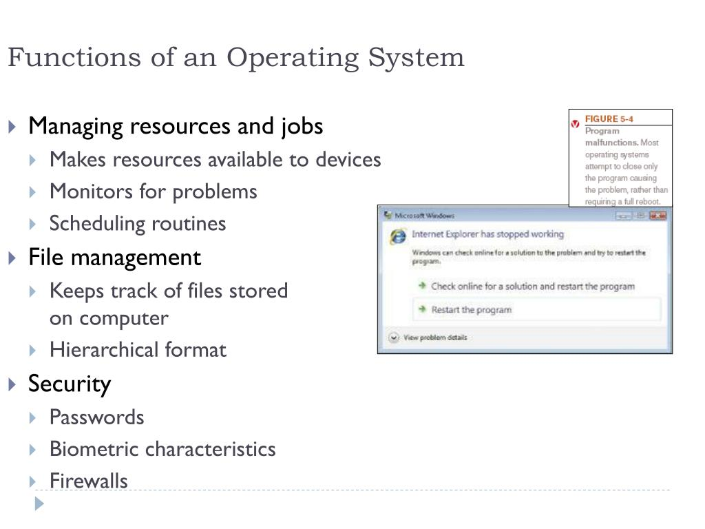 PPT - System Software: Operating Systems and Utility Programs