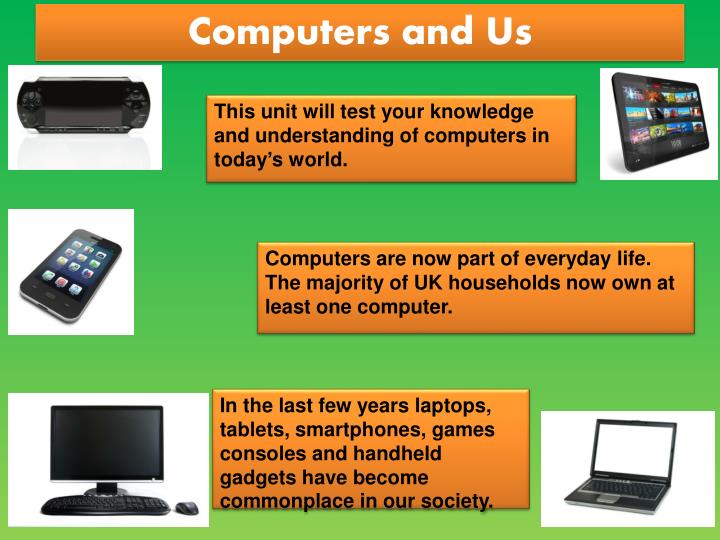 Computers and us