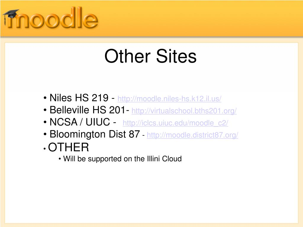 PPT - Moodle for Network Admins PowerPoint Presentation ...