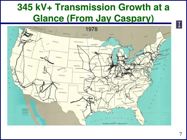345 kV+ Transmission Growth at a Glance (From Jay