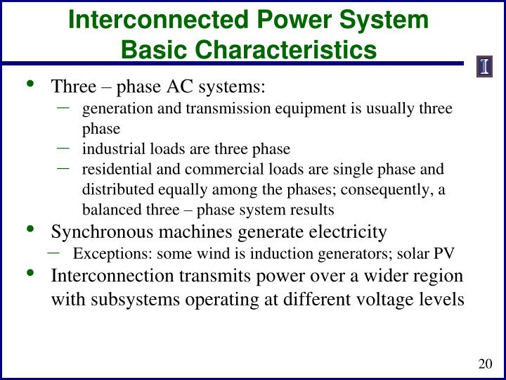 Interconnected Power System
