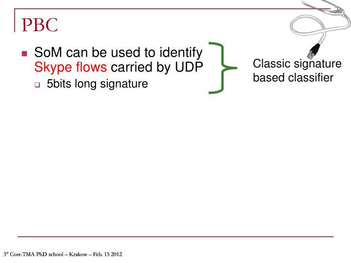 Classic signature based classifier