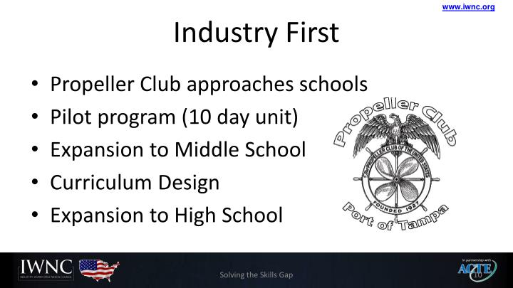 Industry First