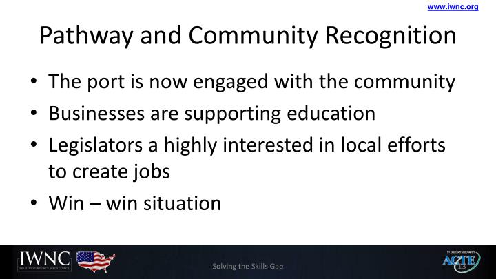Pathway and Community Recognition