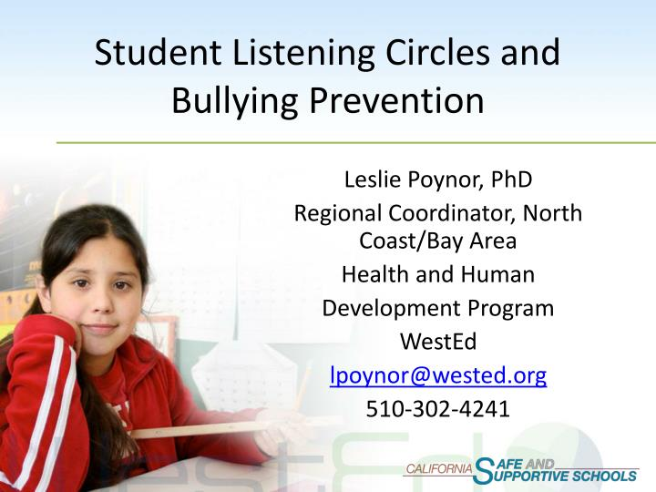 student listening circles and bullying prevention n.